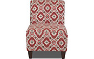 Klaussner Kaylee Red Armless Chair