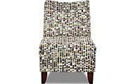 Klaussner Linus Slate Armless Chair