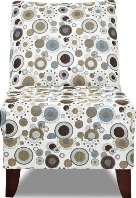 Klaussner Linus Circle Dot Armless Chair