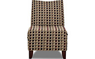 Klaussner Linus Geometric Armless Chair