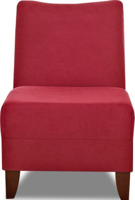 Klaussner Linus Cherry Armless Chair