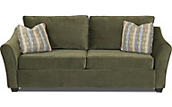 Klaussner Linville Olive Queen Sleeper Sofa