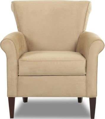 Klaussner Louise Almond Accent Chair