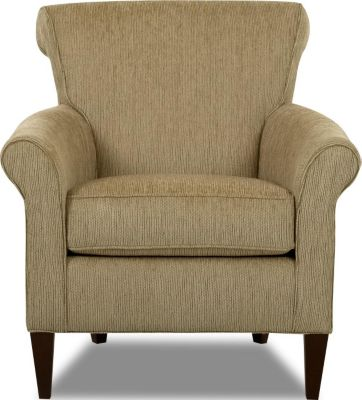 Klaussner Louise Tan Accent Chair