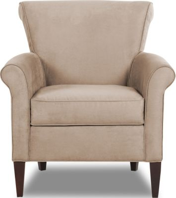 Klaussner Louise Ivory Accent Chair