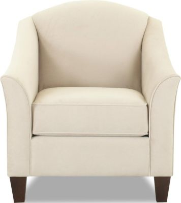 Klaussner Lucy Cream Accent Chair