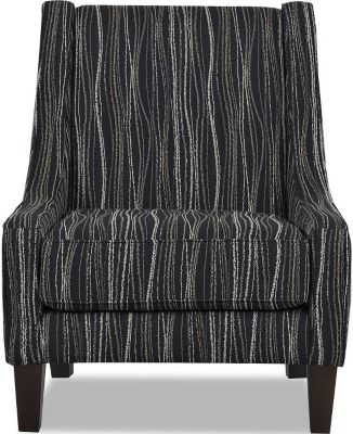 Klaussner Matrix Striped Chair
