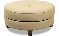 Klaussner Pippa Cream Cocktail Ottoman