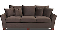 Klaussner Posen Chocolate Sofa