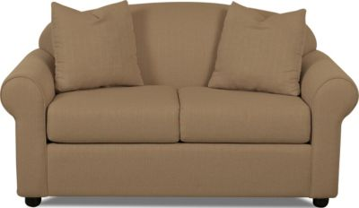 Klaussner Possibilities Mocha Loveseat