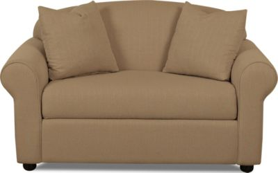 Klaussner Possibilities Mocha Chair & 1/2