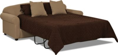 Klaussner Possibilities Mocha Queen Sleeper