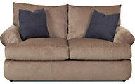 Klaussner Samantha Tan Loveseat