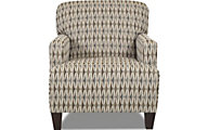 Klaussner Tanner Geometric Accent Chair