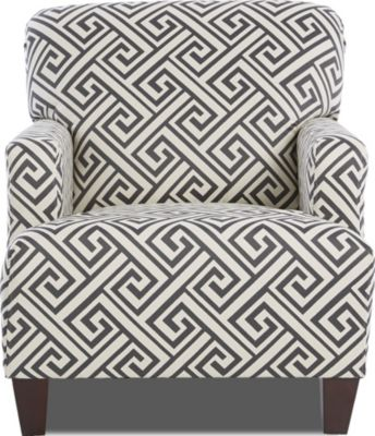 Klaussner Tanner Greek Key Accent Chair