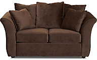 Klaussner Voodoo Walnut Loveseat