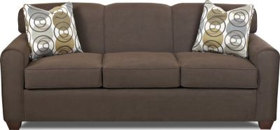 Klaussner Zuma Brown Sofa