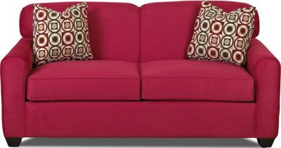 Klaussner Zuma Rose Loveseat