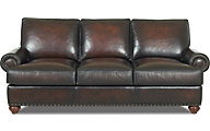 Klaussner Ellington 100% Leather Sofa