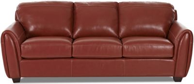 Klaussner Giles Leather Sofa