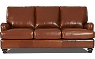 Klaussner Loxley 100% Leather Sofa