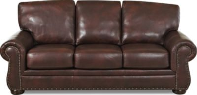 Klaussner Tomoka Leather Sofa
