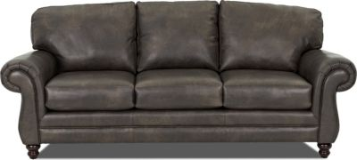 Klaussner Valiant 100% Leather Sofa