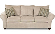 Klaussner Fletcher Ivory Queen Sleeper Sofa