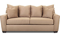 Klaussner Heather Tan Queen Sleeper Sofa