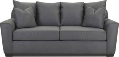 Klaussner Heather Charcoal Queen Sleeper Sofa