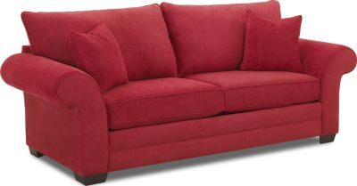 Klaussner Holly Cherry Queen Sleeper Sofa