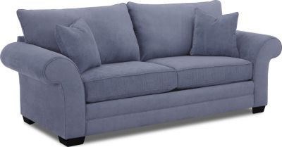 Klaussner Holly Blue Queen Sleeper Sofa