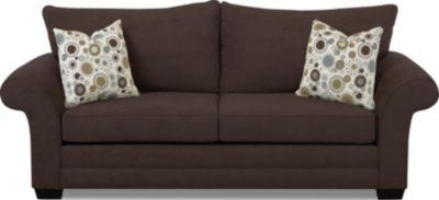 Klaussner Holly Brown Queen Sleeper Sofa