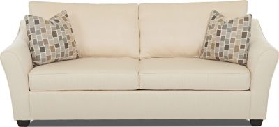 Klaussner Linville Cream Queen Sleeper Sofa