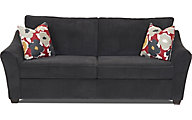 Klaussner Linville Navy Queen Sleeper Sofa