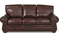 Klaussner Tomoka Leather Queen Sleeper