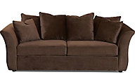 Klaussner Voodoo Chocolate Queen Sleeper Sofa