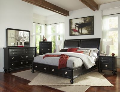 Klaussner Danbury 4-Piece King Storage Bedroom Set