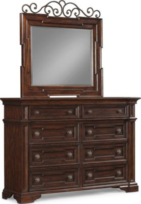 Klaussner San Marcos Dresser with Mirror