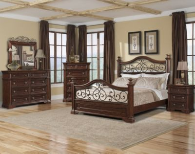 Klaussner San Marcos 4-Piece Queen Bedroom Set
