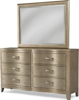 Klaussner Serenade Glamour Dresser with Mirror