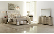 Klaussner Serenade Glamour 4-Piece Queen Bedroom Set