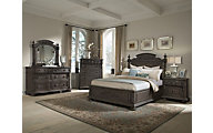 Klaussner Versailles 4-Piece King Bedroom Set