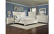 Klaussner Whittington 4-Piece Queen Storage Bedroom Set