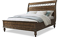 Klaussner Southern Pines King Sleigh Bed