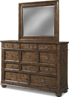 Klaussner Southern Pines Dresser with Mirror