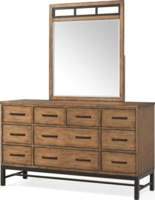Klaussner Affinity Dresser with Mirror