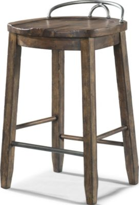Klaussner Cowboy Burnished Stool