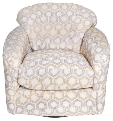 Klaussner Berger Swivel Glider