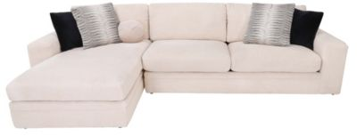 Klaussner Casa Mesa Left-Side Chaise Sofa